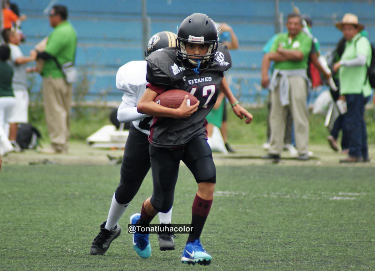 Titanes superó a Bulldogs Dorados en el primer Interligas ONEFA - OFAMO en Infantiles