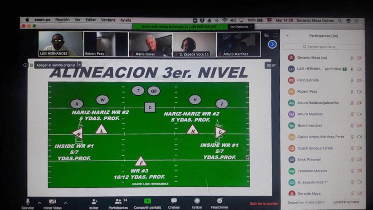 Éxitosa la clínica virtual impartida por Coaches del IPN