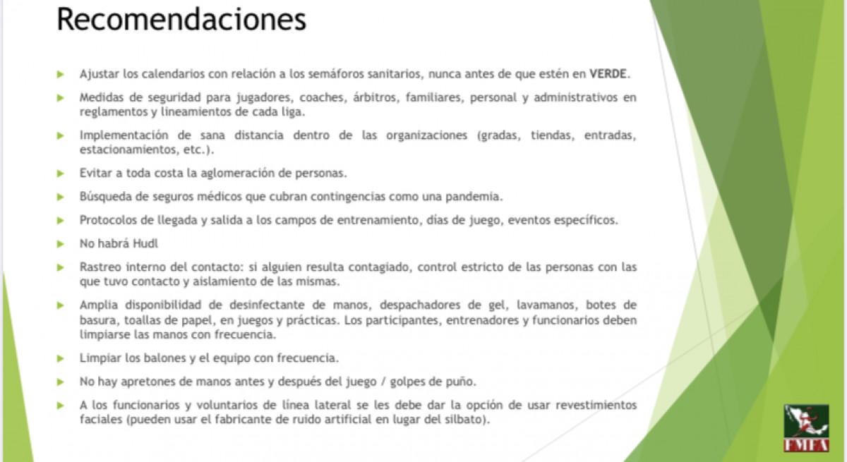 Presentación Federación Mexicana de Fútbol Americano