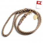 Natural Rope Leash by Bethany Obrecht