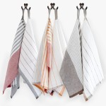 Pastry Stripe Kitchen Towels