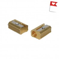 Block Brass Sharpener by DUX
