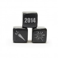 Whisky Stones Icon - Happy New Year's 2014!