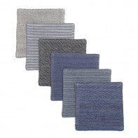 Chambray Cocktail Coasters