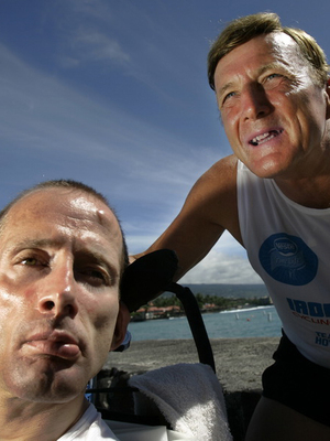 Dick Hoyt, Endurance inspiration, overcome, fitness, running, teamwork, motiation, NSB