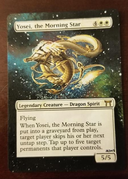 Borderless and space themed yosei. For sale in my shop. custom alter