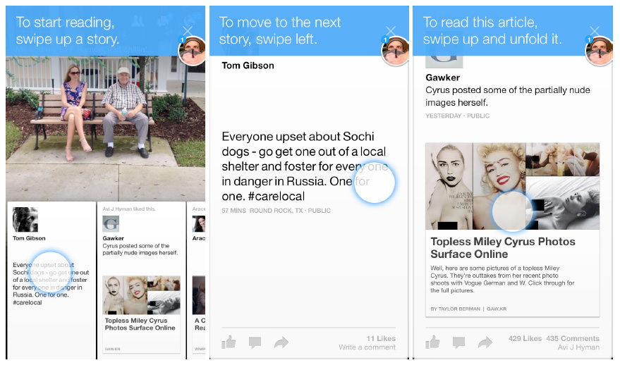 FB Paper Onboarding - How To Get High App Reviews