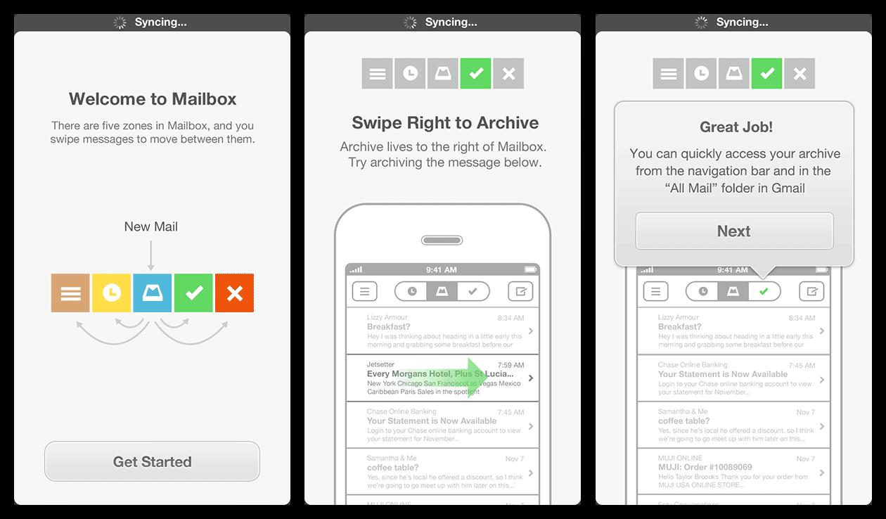 Mailbox app - 5 star app reviews