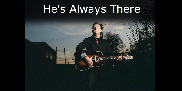 Hes Always There - Course Image