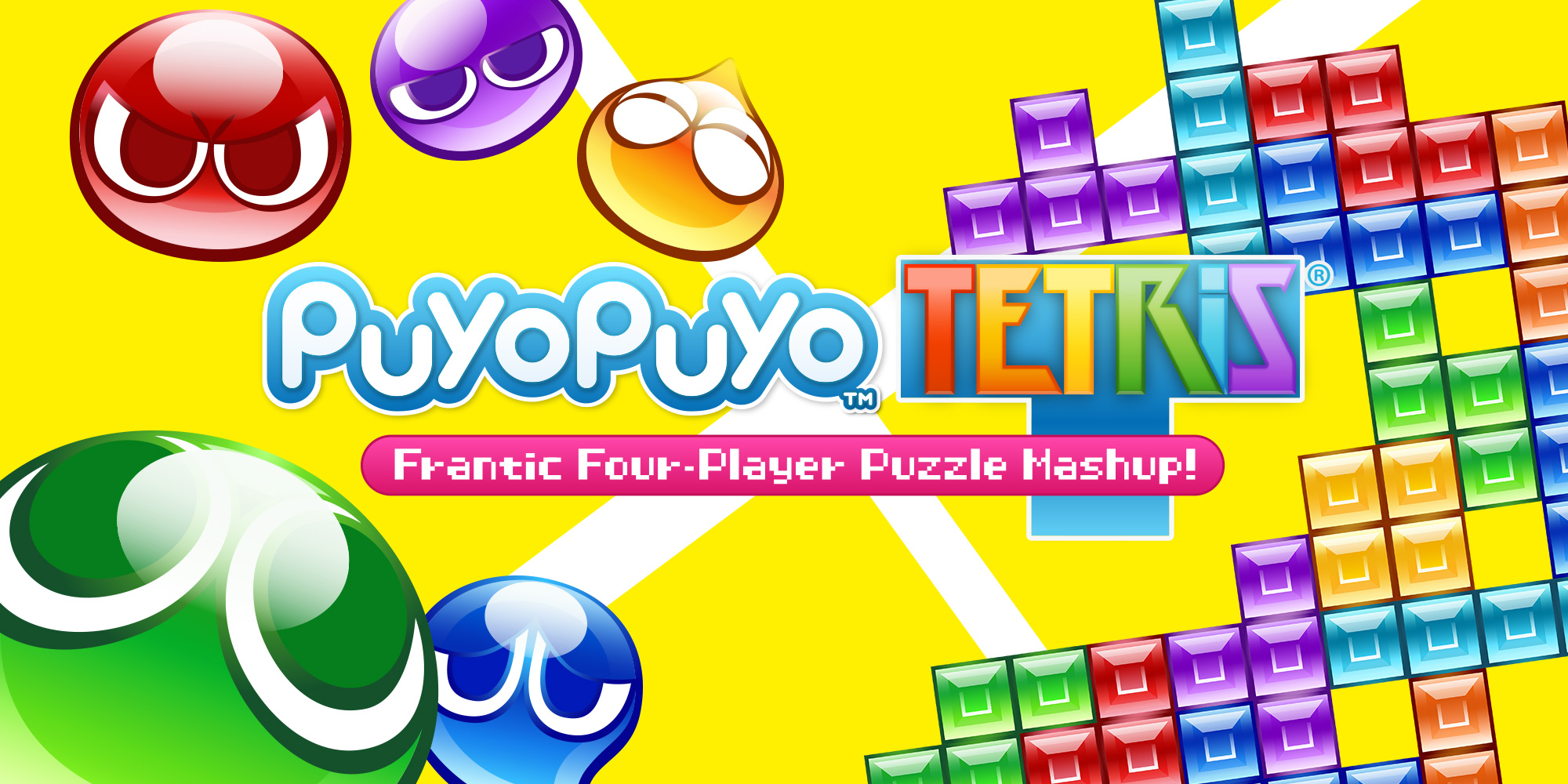 Two Games Collide in SEGA's Puyo Puyo Tetris