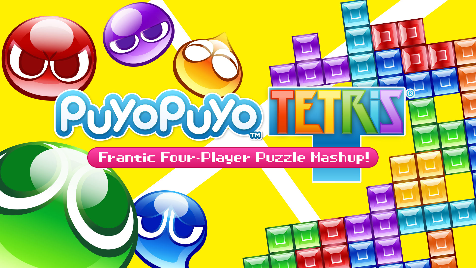 Puyo Puyo Tetris – The Frantic Four-Player Puzzle Mashup – is Now Available in the Americas