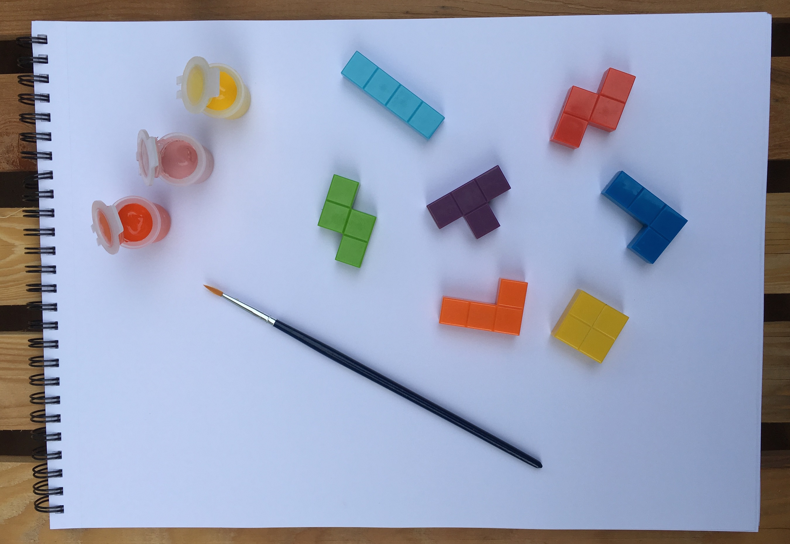 Let's Get Crafty – Create a Beautiful Tetris Painting