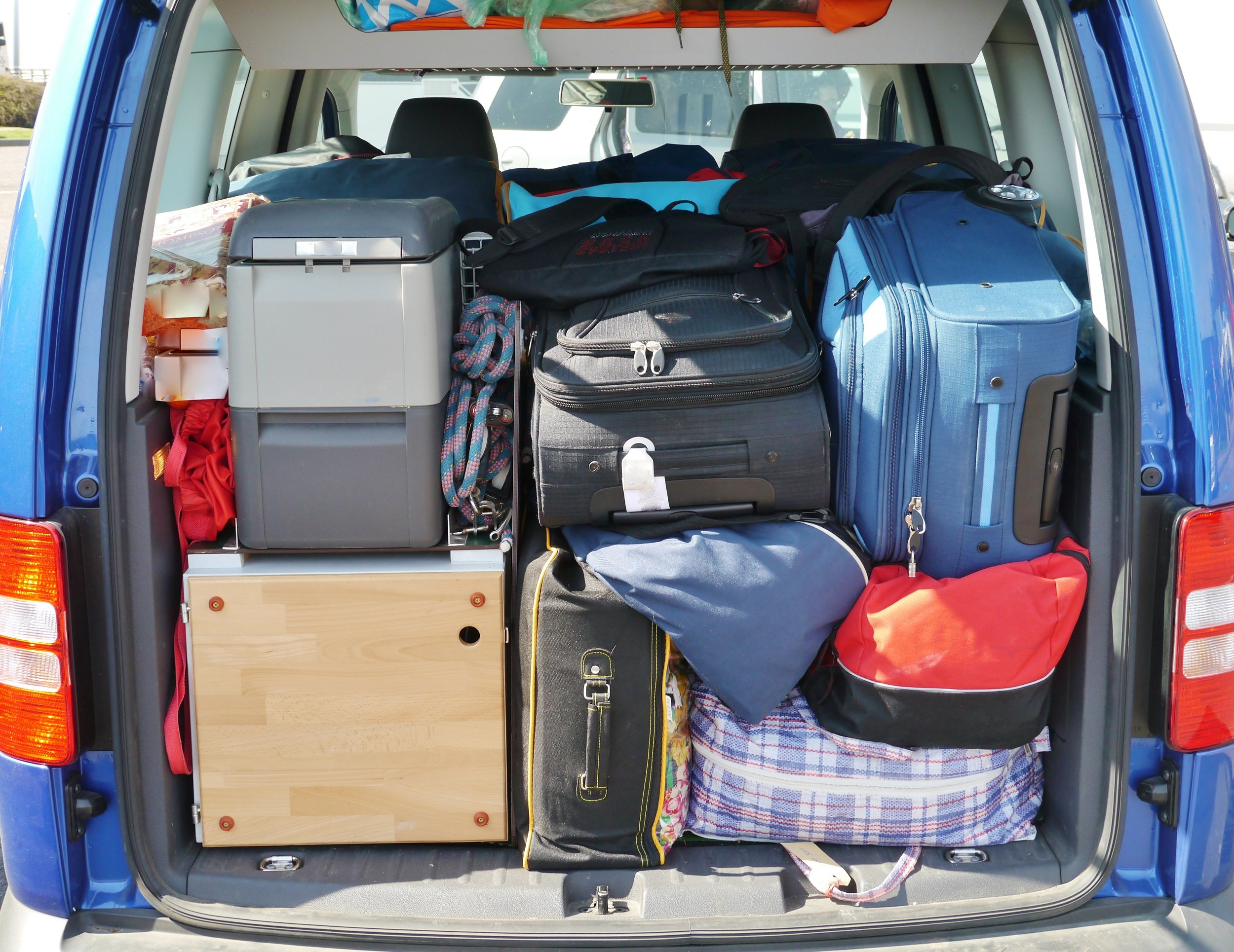 How to Pack Your Car the Tetris Way