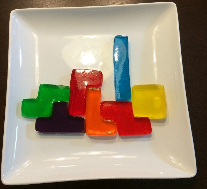Let's Get Crafty: How to Make Tetris Jell-O Treats