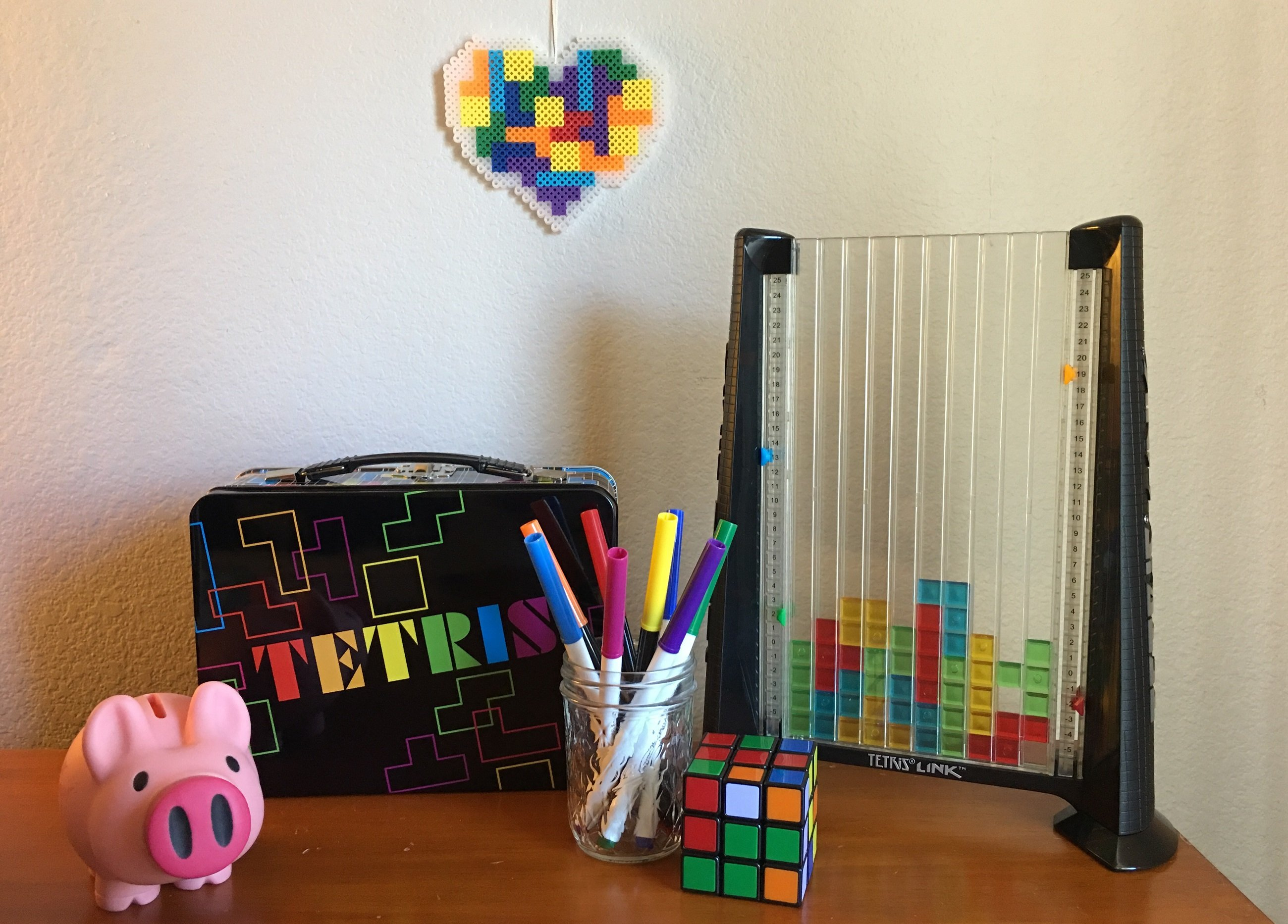 How to Add a Little Tetris Flair to Your Kid's Room