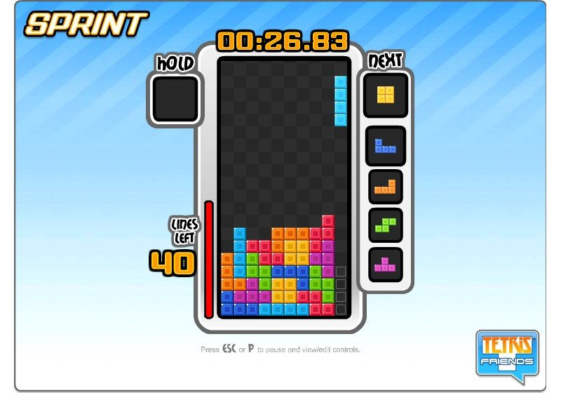 Tetris Friends - Sprint Tips and Tricks