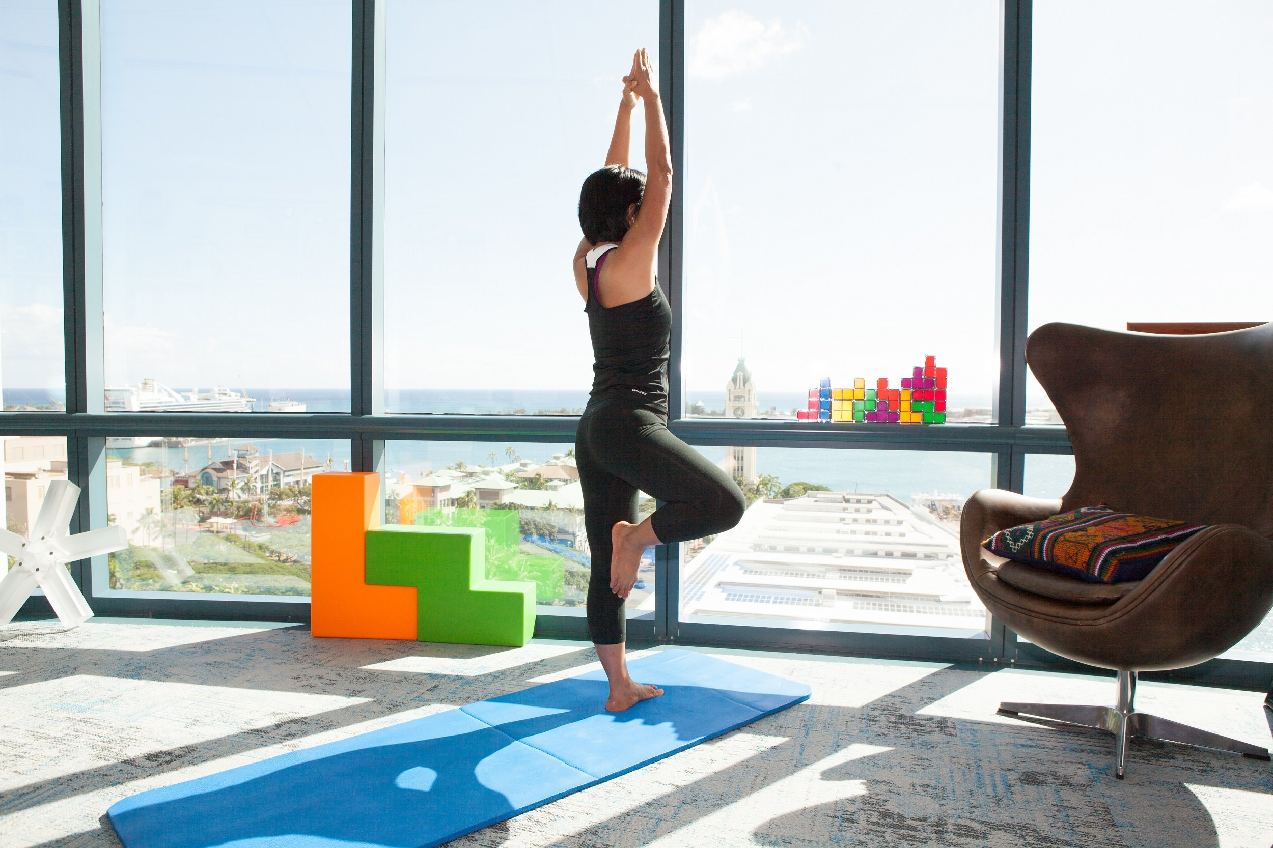 How to Add Tetris to Your Yoga Routine