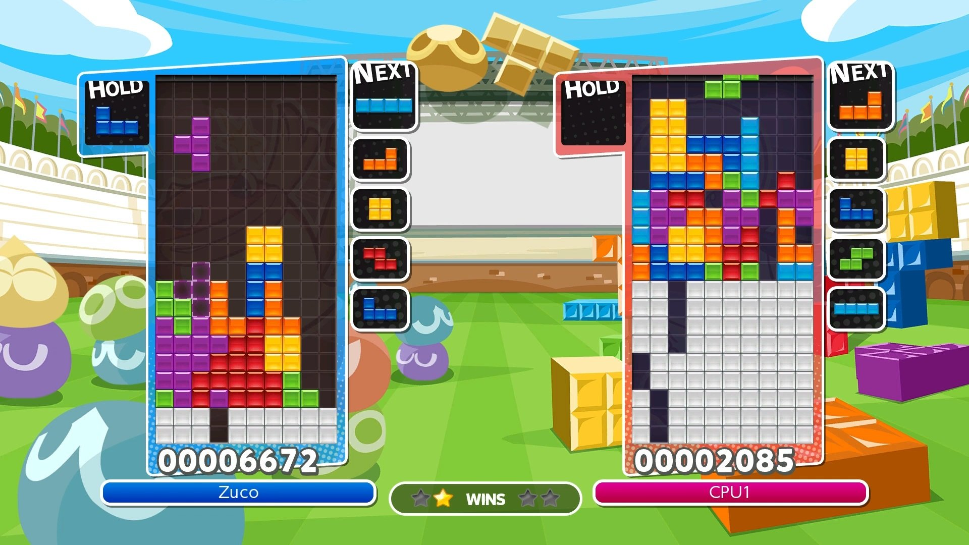 How to Keep Your Cool in Tetris Multiplayer