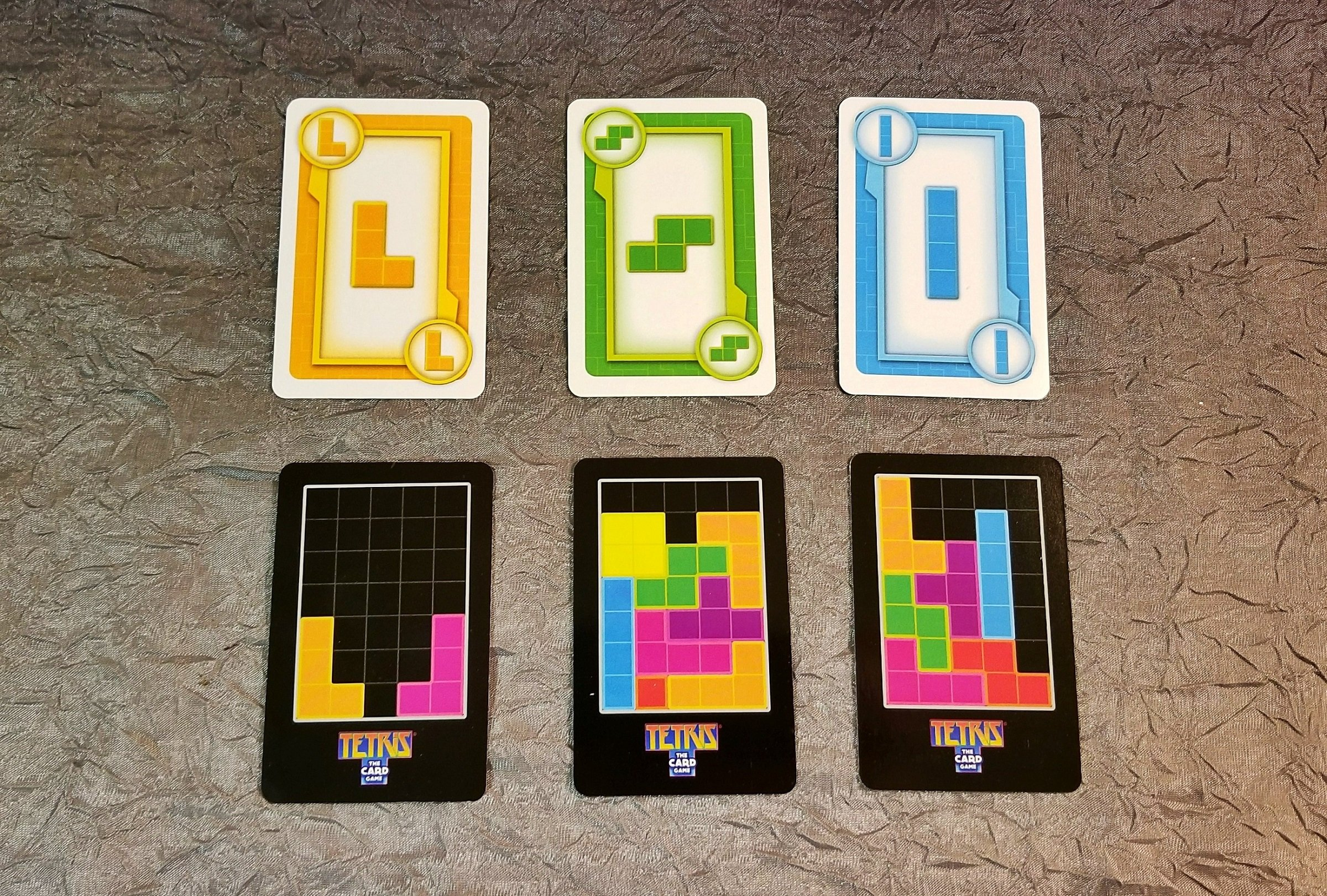 How to Play Tetris: The Card Game