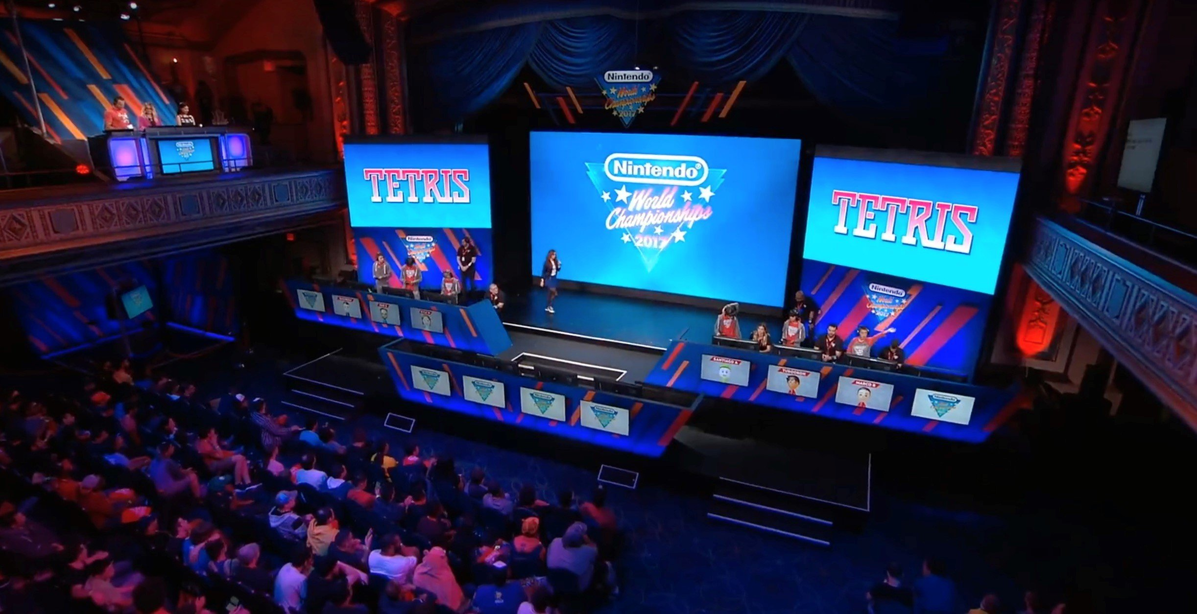 Tetris Makes Surprise Appearance at Nintendo World Championships 2017