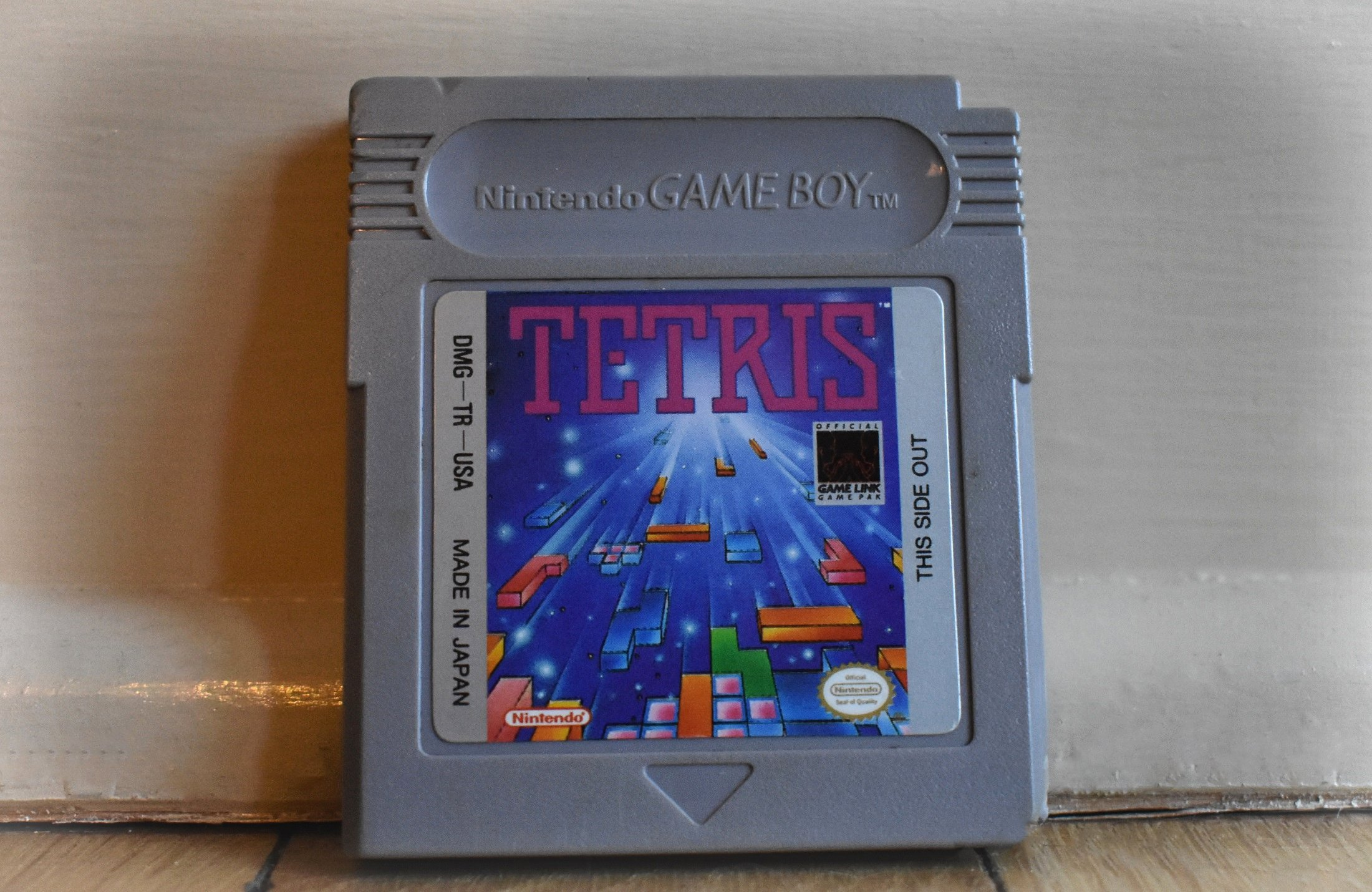 My First Copy of Tetris