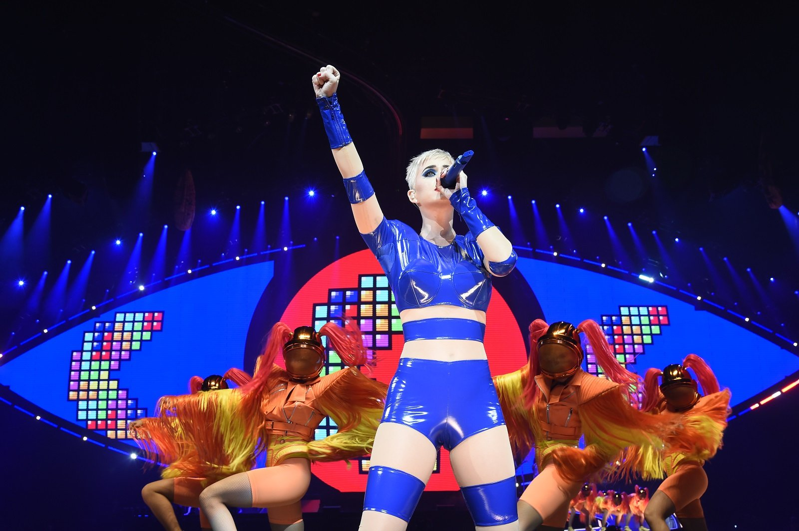 Tetris Featured in Katy Perry's Latest Tour