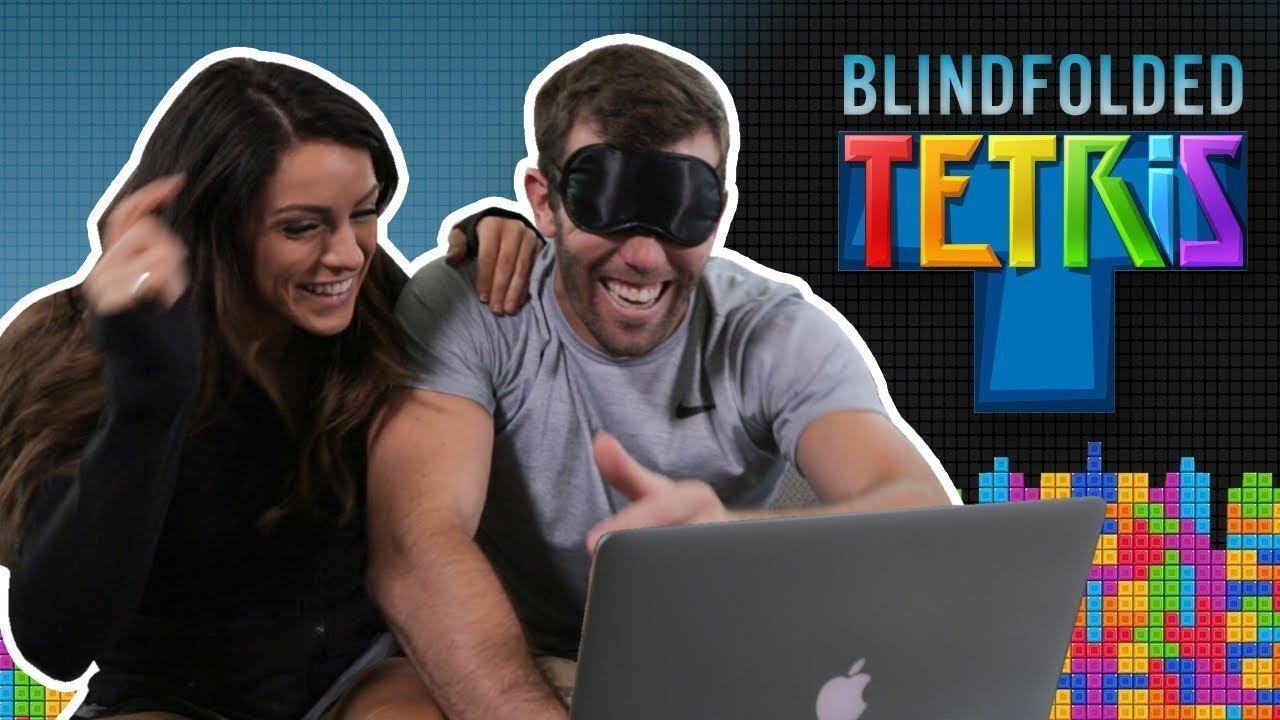 Watch as One Couple Takes on Tetris Blindfolded