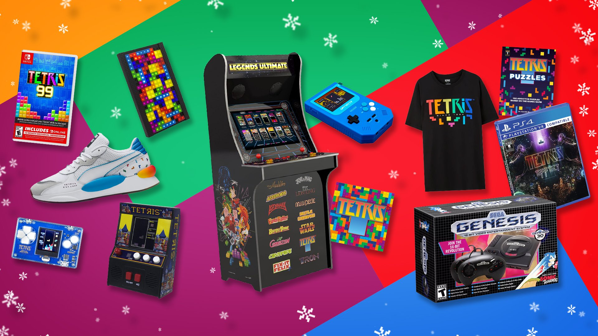 12 Gifts of Christmas - Tetris Edition