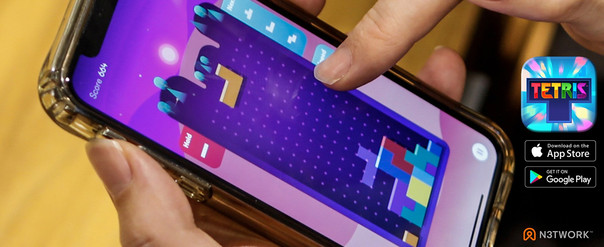 New Tetris App by N3TWORK Now Available for Mobile Devices