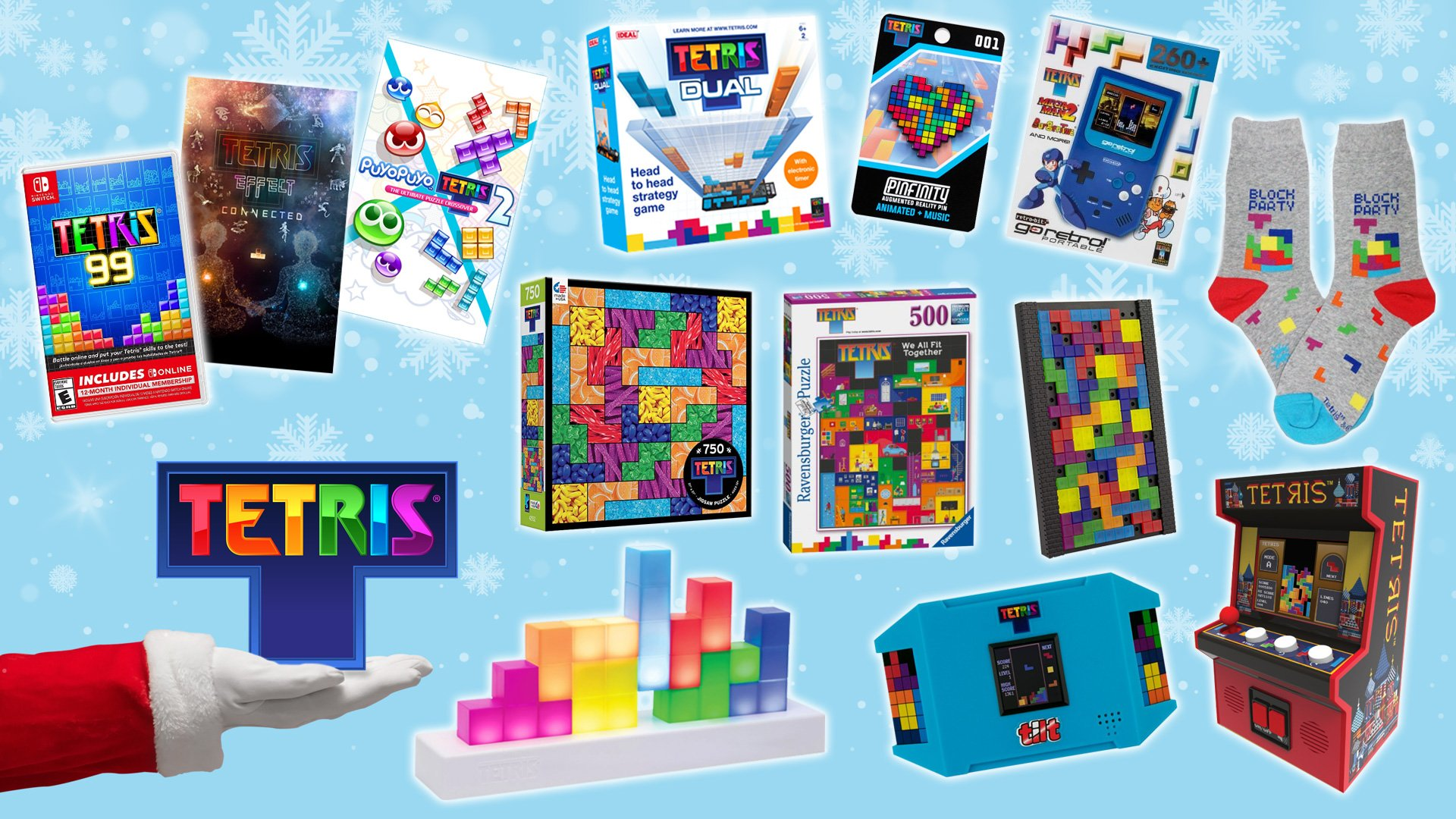 Tetris 2020 Holiday Gift Guide