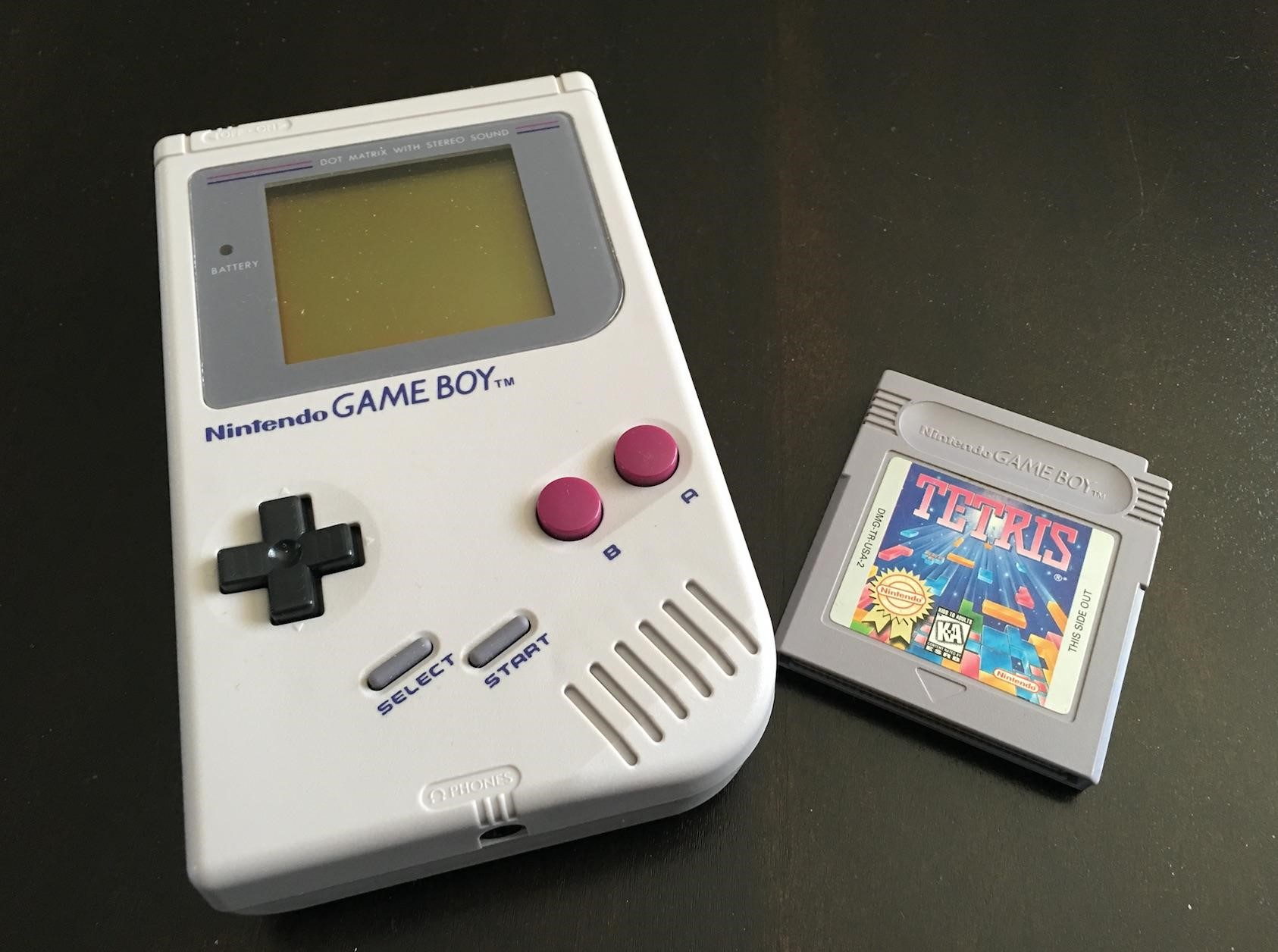 What Was It Like To Play Tetris On The Game Boy Tetris