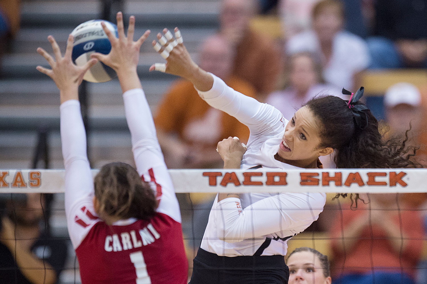 Micaya White - 2017 Volleyball Roster - Texas Athletics