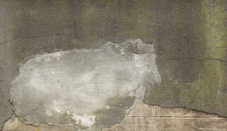 Cracked and crumbling concrete 0024