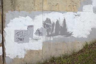 Painted concrete 0024