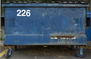 Trash containers 0017