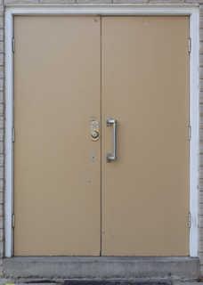 Metal doors 0010