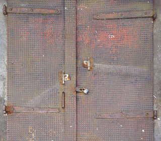 Metal doors 0014