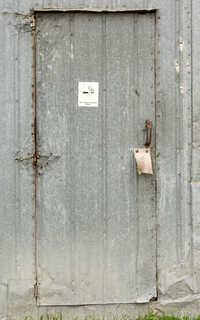 Metal doors 0015