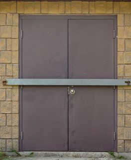 Metal doors 0019