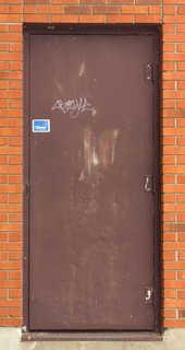 Metal doors 0020