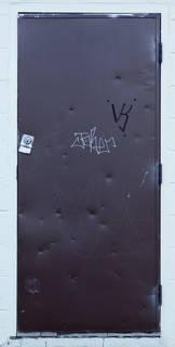 Metal doors 0033