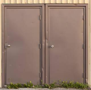 Metal doors 0045