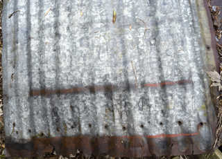 Corrugated metal 0034