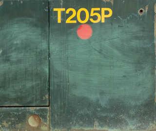 Painted metal 0028