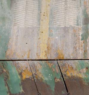 Painted metal 0039