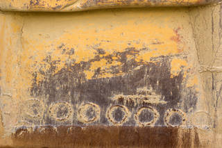 Painted metal 0045