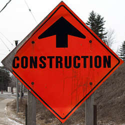 Construction Signs Category