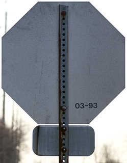 Sign backsides 0006