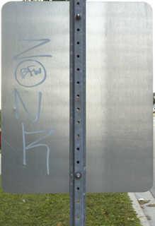 Sign backsides 0011