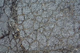 Damaged asphalt terrain 0003
